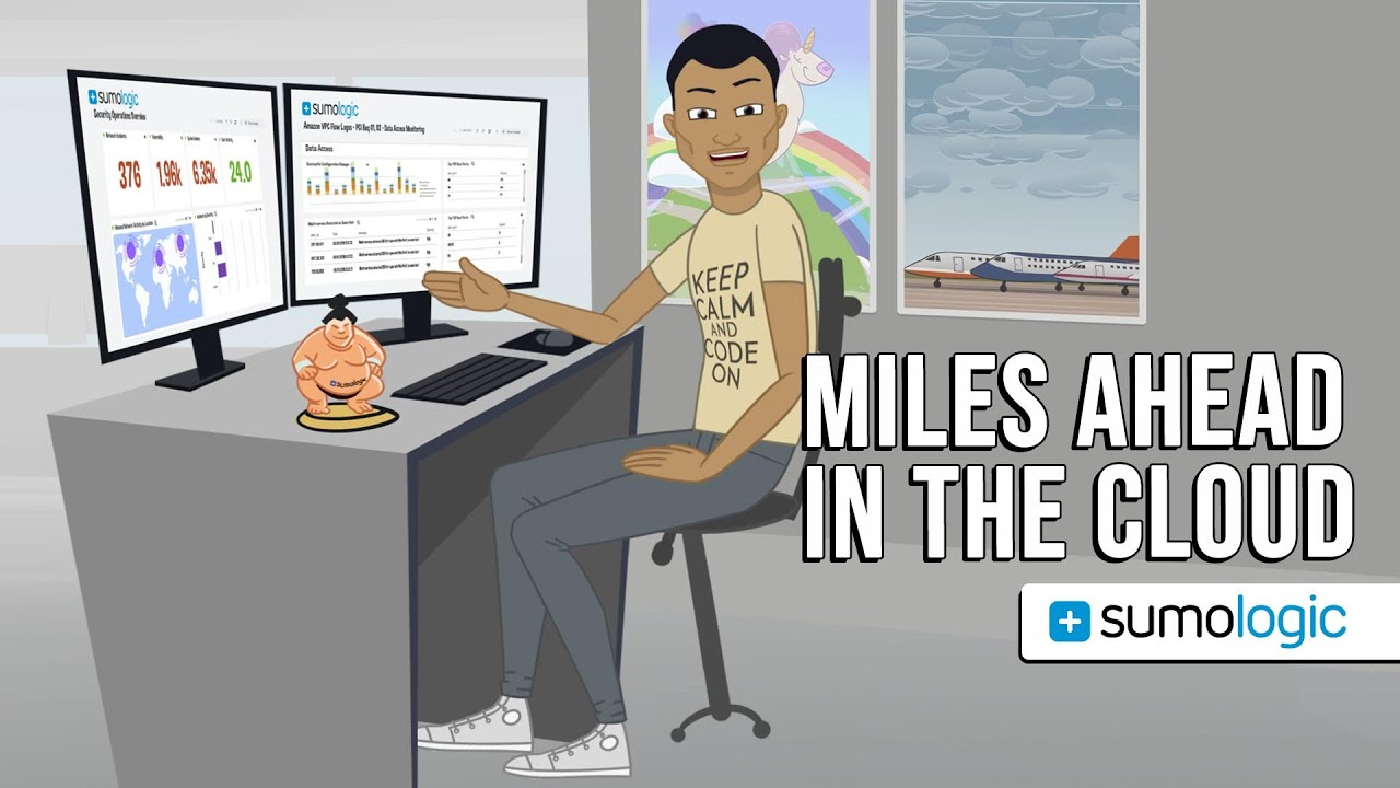 Miles Ahead in the Cloud – Sumo Logic | Animated Commercial, Explainer Animation