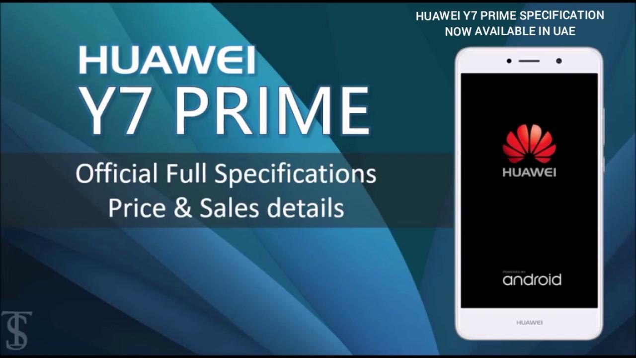 Huawei y7 prime 2017 specification UAE