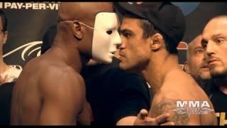 UFC 126 Anderson Silva & Vitor Belfort Weigh-In & Staredown