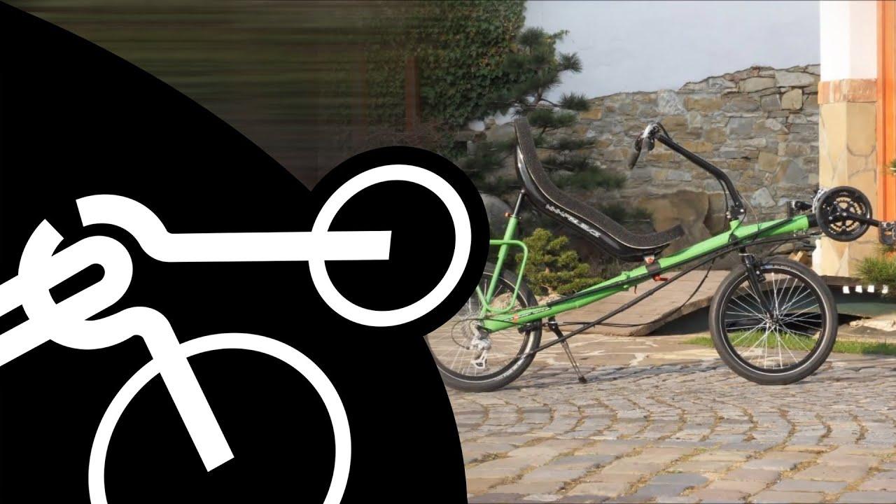 Folding Recumbent Bike Azub Origami Youtube