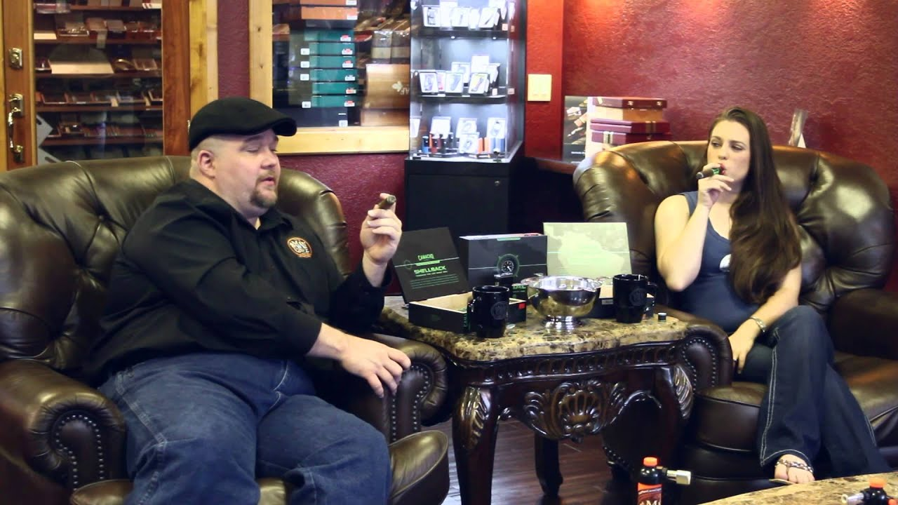 Man Cave Review : The shellback from camacho cigars a review at man