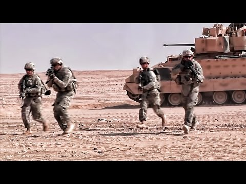 U.S. Army 3rd Infantry Div • Live-Fire Training In Kuwait