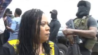 BREAKING NEWS :SECURITY OPERATIVES LOCK DOWN NATIONAL ASSEMBLY