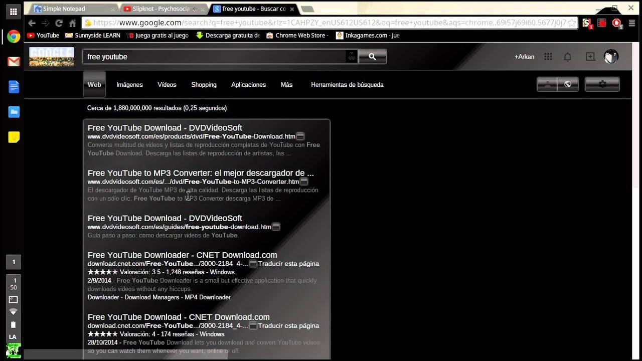 como descargar free youtube to mp3 converter full