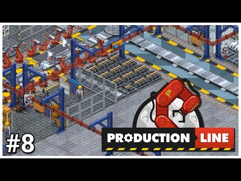 Production Line - #8 - Electric! - Let's Play / Gameplay / Construction