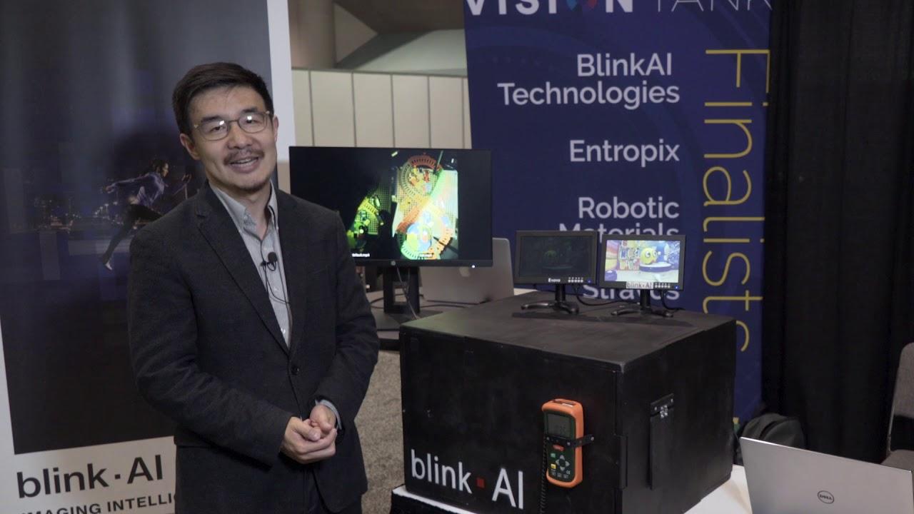 BlinkAI Technologies Demonstration of Machine Learning Low-Light Enhancement