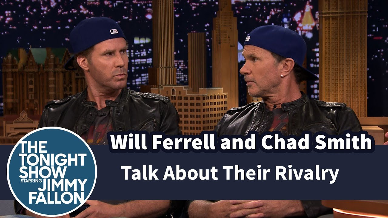 will ferrell and chad smith talk about their rivalry youtube