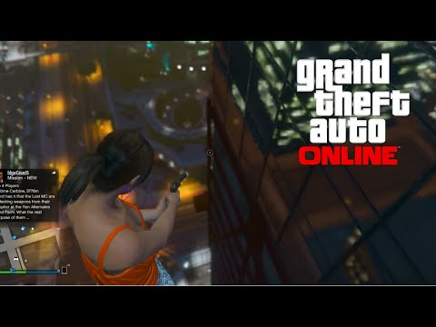 GTA 5 Online - NEW Floating Sniper Glitch & Other Fun Glitches Online! (GTA V PS4 Gameplay)