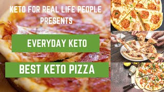 Best Easy Keto Pizza Ever!