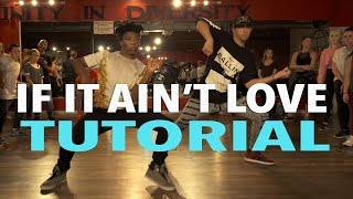 if it ain t love jason derulo dance tutorial   mattsteffanina choreography
