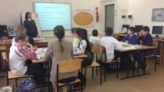 Відкритий урок української мови у 6 класі ВНРЦ