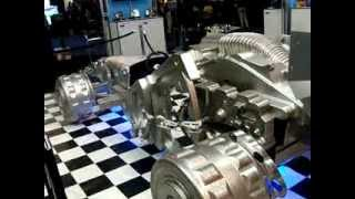 Model of a car designed using hard drive parts - very cool