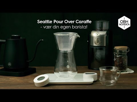 Pour Over Kettle Seattle OBH Nordica 35s