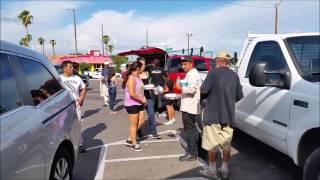 October 2015 Feeding the Homeless