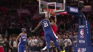 Houston Rockets vs Philadelphia 76ers : January 21, 2019