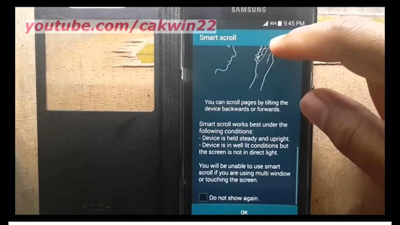 Samsung galaxy s5 how to turn onoff and use smart scroll samsung galaxy s5 how to turn onoff and use smart scroll android phone biocorpaavc