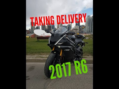 Taking Delivery of my 2017 YAMAHA R6 (First ride)