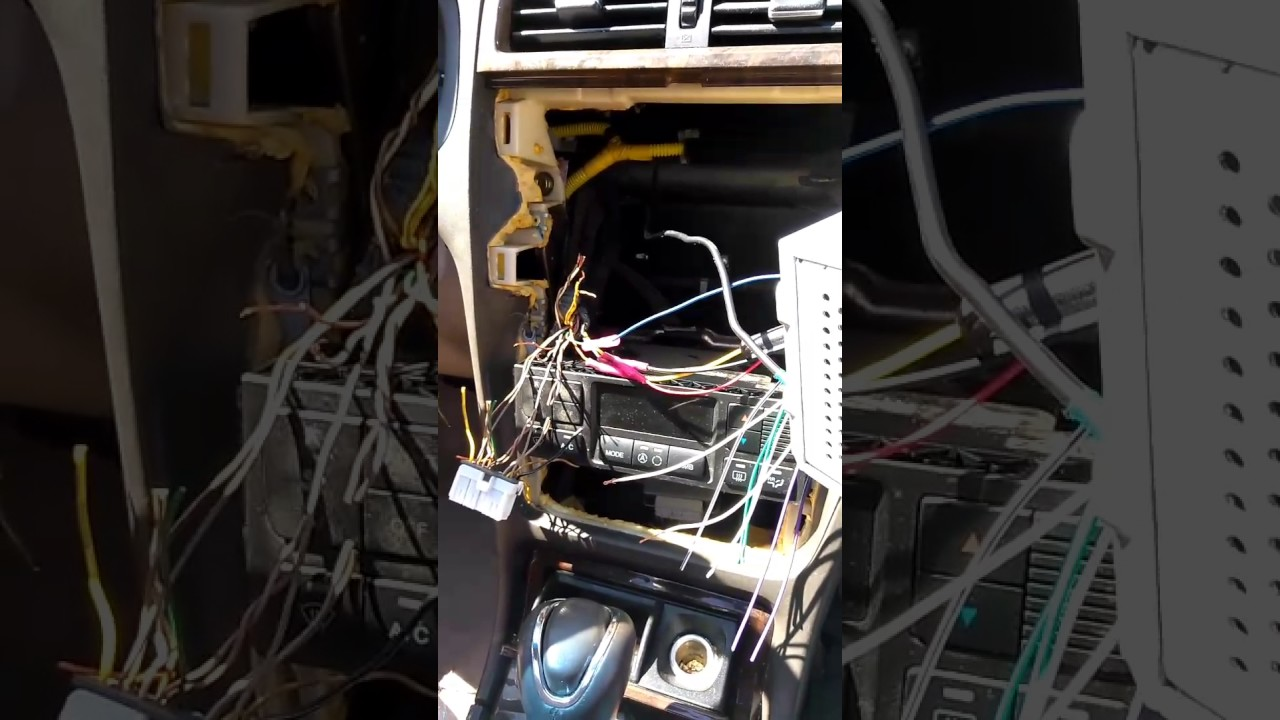 Hyundai Xg300 Stereo Install Pt 1 Of 4