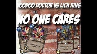 Warrior vs The Lich King EZ WIN- Hearthstone