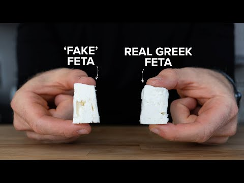 Why all Feta Cheese at the store is not the same
