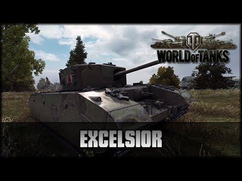 World of Tanks - Live: Excelsior - Premium [ deutsch 🐄 gameplay ]