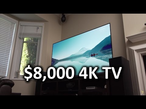My New $8,000 LG OLED TV - A HUGE Living Room Upgrade