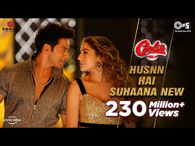 Husnn Hai Suhaana New - Coolie No.1| VarunDhawan | Sara Ali Khan | Chandana, Abhijeet| David Dhawan