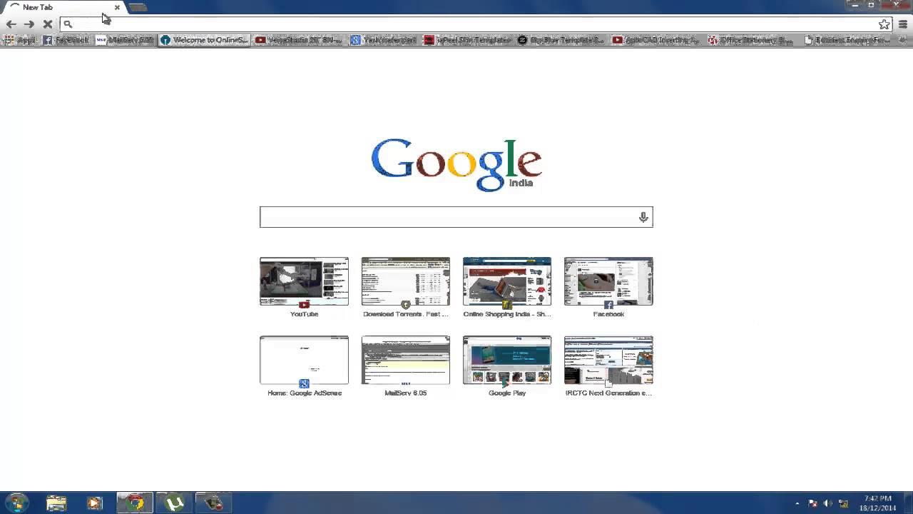 T-Rex Dinosaur Google Chrome's HIDDEN Game - YouTube