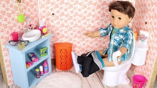 DIY American Girl Toilet