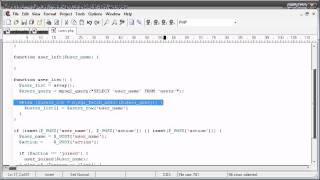 jQuery Tutorial - 185 - Users online sample application