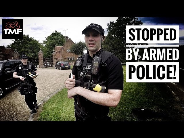 BMW F850GSA Ride - Stopped by armed Police!!
