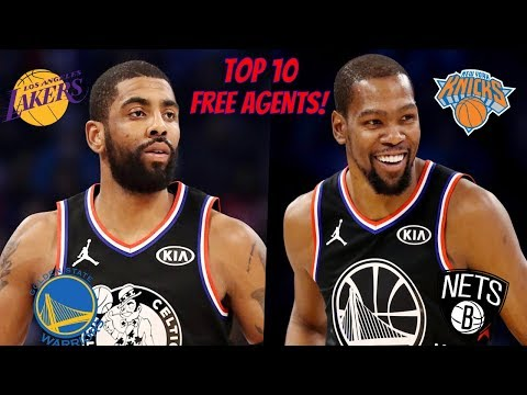 Top 10 NBA Free Agents! (2019 Off-Season!)