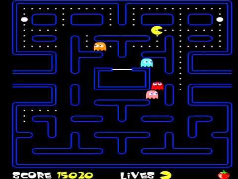 Andkon Arcade - Pacman (Gameplay)