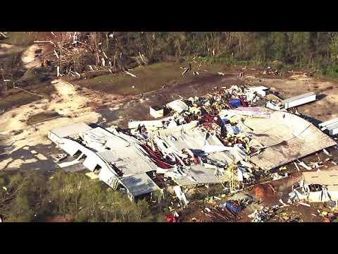 Chopper 11 over damage in Greensboro after tornado