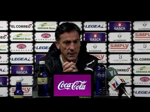 RdP Aitor Larrazabal tras Barakaldo CF 1 -  Bilbao Athletic 1