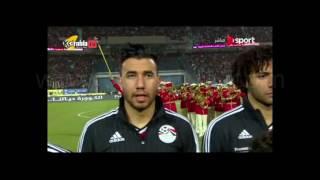 لقطة رائعة علي طريقة ابو تريكه من تريزيجية قبل بداية مباراة تونس