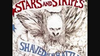 Stars and Stripes-shaved for battle