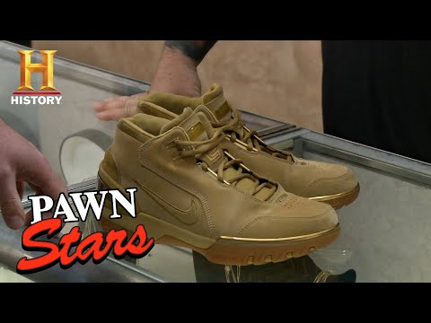 Pawn Stars: Lebron James Air Zoom Generation Nike Shoes | History
