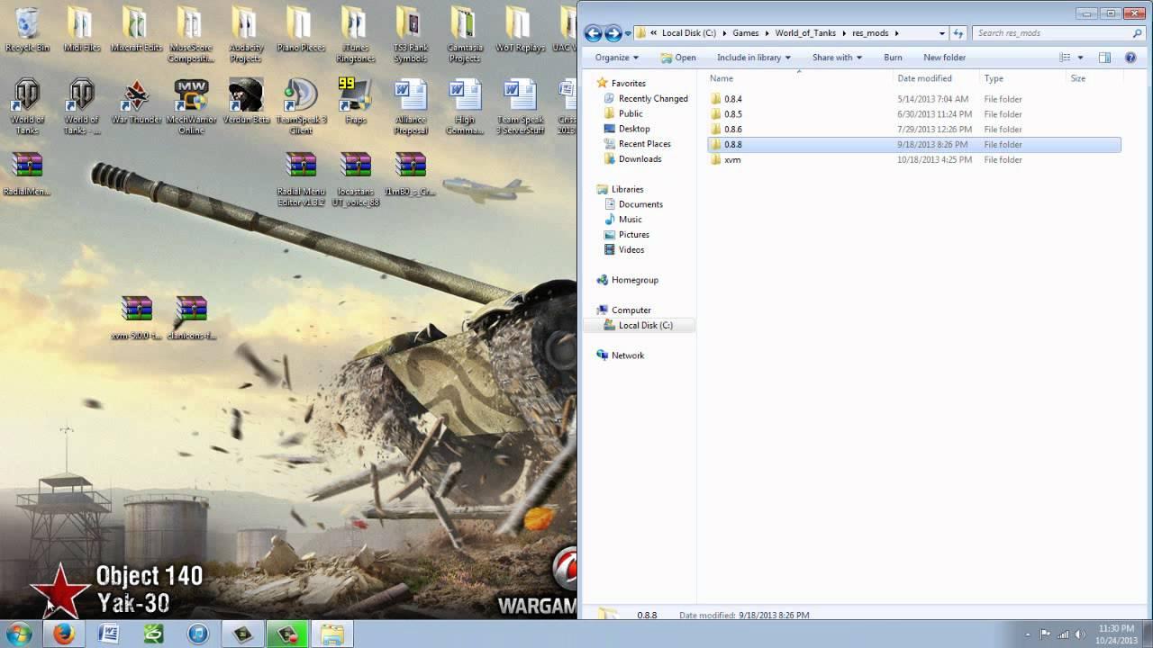 xvm mod world of tanks 8.8