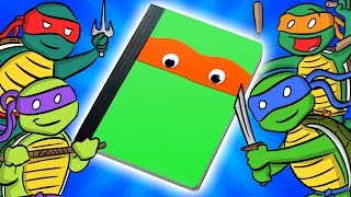 Teenage Mutant Ninja Turtles Notebook -