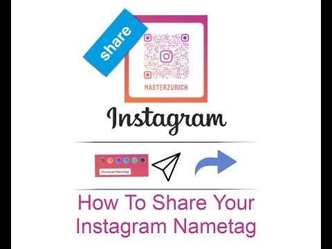 How To Share Your Instagram Nametag