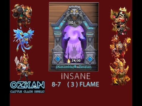 Insane Dungeon 8-7 L 3 Flame L Castle Clash
