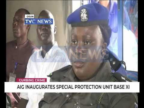 AIG inaugurates Special protection unit Base xi