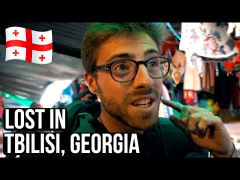 LOST IN TBILISI, GEORGIA (using marshrutkas - Georgian local