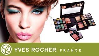 Обзор косметики от Ив Роше. Палитра для макияжа: 60 оттенков