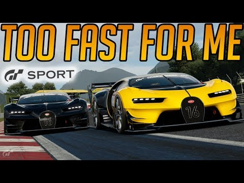 Gran Turismo Sport: Group 1 is Too Fast For Me!