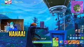 How to Troll a Noob | Fortnite Funny WTF Moments
