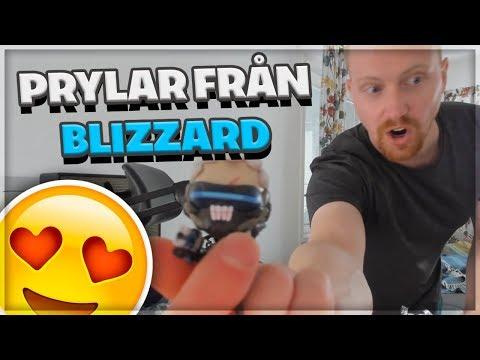 Prylar Från Blizzard! Unboxing Vlog