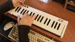 midiplus x3mini USB MIDI Controller - Superteclados.com