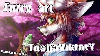 Обзор артов Furry художника ToshaViktory